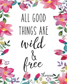 All Good Things Print