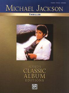 Michael Jackson: Thriller for Piano,   Vocal & Guitar. £14.99