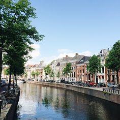 Groningen is natuurlijk ook heel erg mooi, mijn stadje! ♡ #latergram #groningen