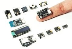 tweeq Miniature Arduino Boards And Modules - tweeq are powerful open source micro-sized Arduino boards providing a wide range of tiny add-ons to help build and expand your Arduino projects. | Geeky Gadgets