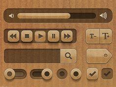 Dribbble - UI Set by Lisi Schappi