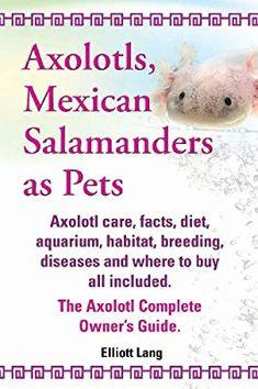 Inktastic Axolotl Says Hello Cute Salamander T-Shirt Animals Amphibian Mexican