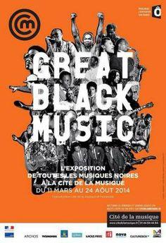 Exposition Great Black Music à la Cité de la Musique de #Paris - Jusqu'au 24 août 2014!