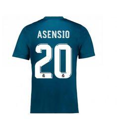 Billiga Real Madrid Marco Asensio 20 Tredje Tröja 17-18 Kortärmad Ronaldo, Real Madrid, Sports, Tops, Fashion, Asensio, Hs Sports, Moda, Fashion Styles