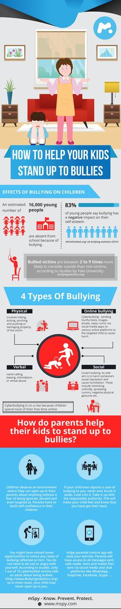 Unfortunately, bullying happens to kids all the time. Teach your child to stand up for themselves in the right way.