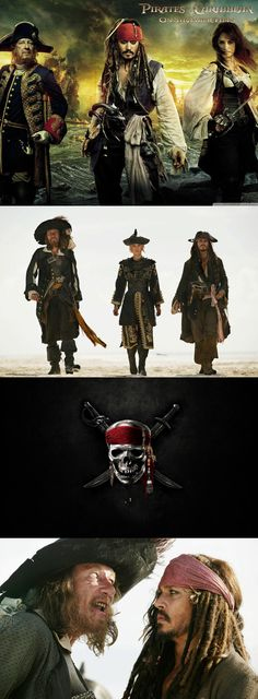 Hector barbossa, jack sparrow, pirates of the caribbean