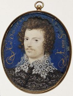 Miniature portrait dated 1588 and age of sitter 22 years