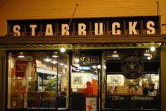 What: drink chai tea at the original Starbucks Where: Seattle, Washington