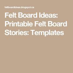 Fairy tale and nursery rhyme felt board templates felt felt board ideas printable felt board stories templates maxwellsz