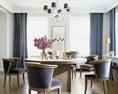 Nate Berkus - they say you eat less when surrounded in blue ...
