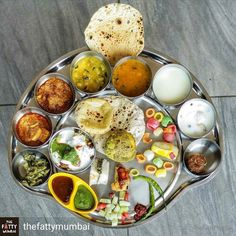 """Via @thefattymumbai -  Good News for all those who are bored of breads or fancy food! Yes RAJWADA THAL is now open at BKC! Yummiest Veg thali with a combination of Rajasthani and Gujarati food!  Right from welcome drink to dessert everything they serve is traditional / desi! . This place is right above wok express with a traditional touch of ambience and staff!  We actually experienced """"Padharo Mare Desh """" kinda feeling.  Ps: They also take corporate/ party orders  so no more dominos party…"""