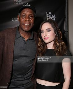 Danny Glover and Zoe Lister-Jones attend the 2015 Los Angeles Film Festival - Premiere Of Mister Lister Films' 'Consumed' at Regal Cinemas L.A. Live on June 15, 2015 in Los Angeles, California.