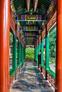 Another picture of the Summer Palace in Beijing