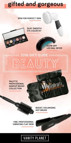 Make your beauty mark with this season's best gift ideas! Check out our 2016 Gift Guide: Beauty edition and shop top picks on everything for beautiful skin and hair to nail care, makeup, and more!