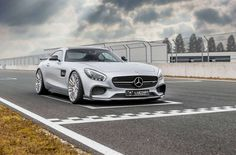 The latest tuner to add its touch to the sporty Mercedes-AMG GT is a German company called Luethen Motorsport, which changed this ride almost completely. Mercedes Benz Amg, Gorgeous Body, Wide Body, Twin Turbo, Modified Cars, New Set, Motor, Luxury Lifestyle, Around The Worlds