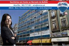 #MUIA (Mais Um x2 Imóveis Arrendados) por Ana Rio – Escritórios em Sá da Bandeira frente ao Bolhão Foram arrendados 2 escritórios, um deles em partilha com o colega André Mayer. Escritórios localiz…