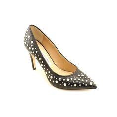 #sale Diane Von Furstenberg Alina Womens Size 9.5 Black Pumps Heels Shoes