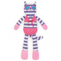 "Catnap Kitty 14"" Plush Toy"