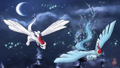 Articuo and Lugia christmas by shadowhatesomochao on deviantART