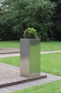 Hochbeete Kaufen ? Aus Holz, Metall, Kunststoff Und Stein: Schnell ... Pflanzkuebel Beton Modern Garten Hochbeet