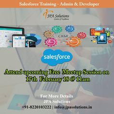Looking for best salesforce training institute in Chennai. We provide certification training, job oriented training with live project exposure.  #salesforce #salesforcetraining #salesforcecourse
