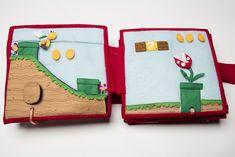 The Quiet Book Blog: Misty's Super Mario Quiet Book