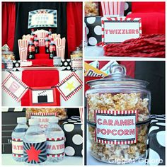 Movie Party Concession Stand