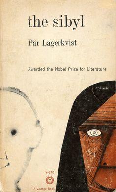 "Pär Lagerkvist, ""The Sibyl,"" Vintage V-240, [1960s]. Cover design by George Giusti"