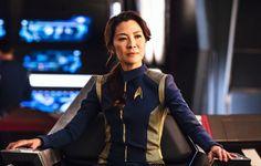 Michelle Yeoh to lead new 'Star Trek' black-ops spin-off series Star Trek News, Star Trek Tv, New Star Trek, Star Trek Series, Star Wars, Michelle Yeoh, Star Trek Uniforms, Watch Star Trek, Sigourney Weaver