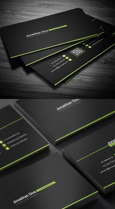 Buy Creative Business Card by ShapShapy on GraphicRiver. Creative Business Card 4 Different Colors Green Blue Yellow Orange Details Easy to modify CMYK 300 DPI .