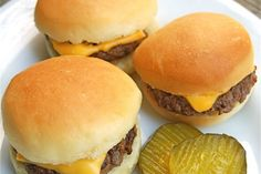 Sliders - how to make the buns and filling from KA