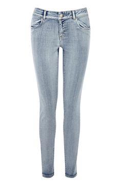 White wash Skinny Jean