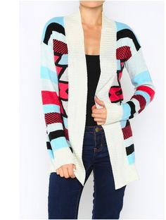 Top Notch Tribal Cardigan