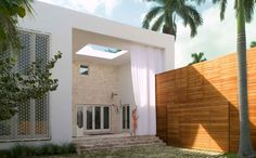 The Cheerful House of Architect Chad Oppenheim in Miami Beach, Florida