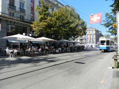 Zürich Bahnhofstrasse Street View, Shopping, Switzerland
