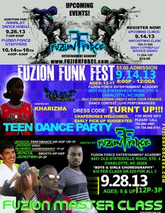 September Explosion at Fuzion Force Entertainment Academy Hip Hop Dance, Competition, September, Entertainment, Student, Instagram, Party, Hiphop