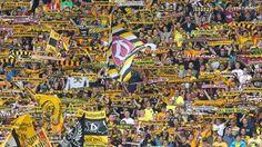 2. Liga - Wir sind angekommen !! Dynamo Dresden hat zwei Jahre nach seinem Abstieg in die 3. Liga die Rückkehr in die 2. Bundesliga mit Dramatik bestanden. Der achtmalige DDR-Meister kam beim 1. FC Magdeburg zu einem 2:2 (0:2) und ist damit vier Spieltage vor Saisonende nicht mehr von einem Aufstiegsplatz zu verdrängen.  Dynamo lag zwischenzeitlich