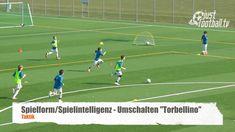 """Die Basis des schnellen Umschaltens """"Torbellino"""" - Spielform - Taktik"""