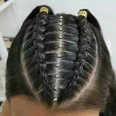 fast easy hairstyles Tips Baddie Hairstyles, Loose Hairstyles, Girl Hairstyles, Braided Hairstyles, Bridesmaid Hair Updo, Front Hair Styles, Braids For Long Hair, Love Hair, Hair Art