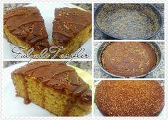 TAHİNLİ PEKMEZLİ KEK ~ Nefis TarifLer Something Sweet, Desserts, Food, Tailgate Desserts, Deserts, Essen, Postres, Meals, Dessert