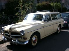 1962-1969 Volvo 122s station wagon, Monterey and Hopkins