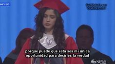 La mejor alumna de un instituto de Texas revela su mayor secreto
