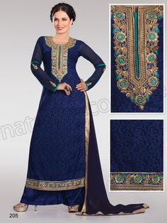 #Designer pakistani suits # Blue#Indian Wear #Desi Fashion #Natasha Couture #Indian Ethnic Wear # Salwar Kameez #Indian Suit