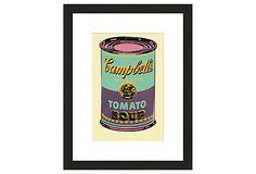 Warhol, Green Campbell's 1965 on OneKingsLane.com