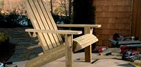 Adirondack Chair Project Plan - Built with the Kreg Jig