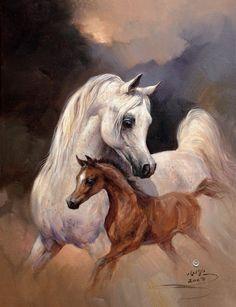 Authentic Arabian Horse Names Volume II Beautiful Arabian Horses, Majestic Horse, Pur Sang, Arabian Art, Horse Artwork, Horse Names, Horse Portrait, Equine Art, Horse Love