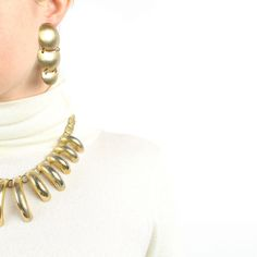1980s big jewelry