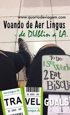Voando de aer lingus de Dublin a Los Angeles 🌏🇮🇪🇺🇸✈️ #aerlingus #QUARTODEVIAGEM #losangeles #irlanda