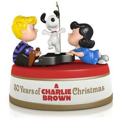 Peanuts® 50 Years of A Charlie Brown Christmas Ornament