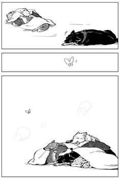 Animal Sketches, Animal Drawings, Anime Animals, Cute Animals, Wolf Comics, Furry Wolf, Furry Comic, Sad Art, Anime Wolf